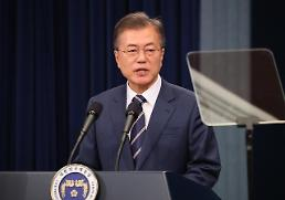 .President Moon pledges to seek occasional informal summit with Kim.