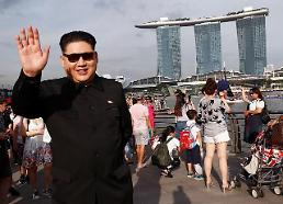 .Is Chairman Kim Jong-un in Singapore?.