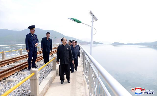 朝鲜高岩-沓村铁路正式开通