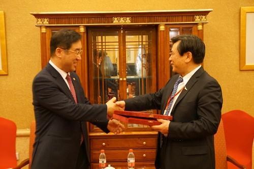 韩中就年底前增设航空复线达成协议