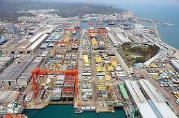 .Hyundai Heavy receives domestic order to build eight large container ships.