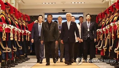 韩菲首脑会谈今在首尔举行