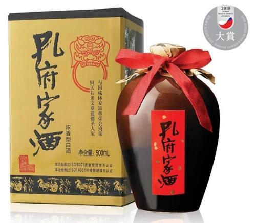 """""""孔府""""还是""""孔宝""""傻傻分不清楚 韩法院禁止销售孔宝家酒"""