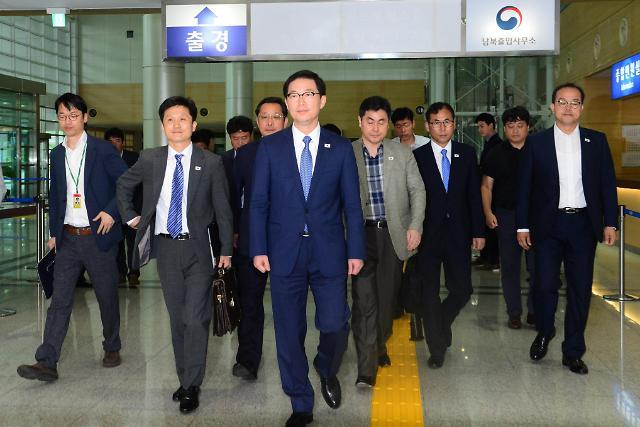 韩方考察团赴朝筹设联络事务所