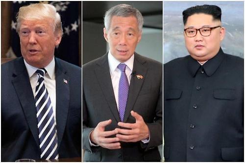 新加坡外交部:新加坡总理李显龙今明分晤金正恩和特朗普