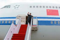 """.中国借""""李克强专机""""给金正恩 还出动了战斗机护航."""