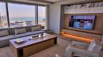 シカゴのマリオットマーキスホテルにLG OLED TV設置・・・LCD TVを含む1千300台納品