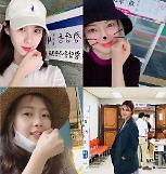 .韩众星晒照呼吁选民参与地选投票.