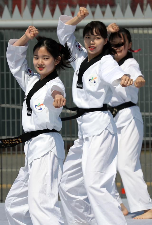 韩政府力推跆拳道生活化与职业化