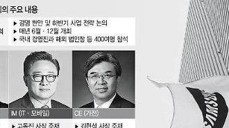 [삼성 글로벌 전략회의] 미래먹거리 찾기 머리 맞댄다