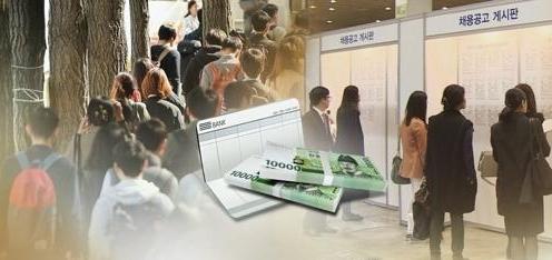 韩求职者平均期望月薪1.3万元
