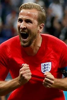 [월드컵] 최연소 캡틴 케인 극장골…잉글랜드, 튀니지에 2-1 극적 승리
