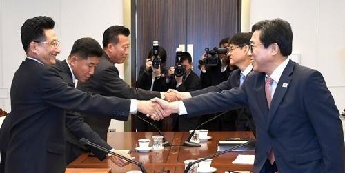 韩朝商定下月在平壤举行篮球赛促统一
