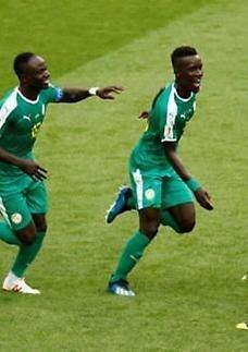 [월드컵] 세네갈, 아프리카 첫 승…폴란드 꺾고 돌풍 예고