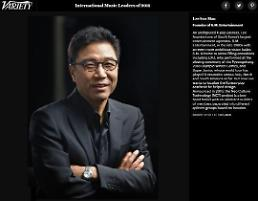 """.李秀满入选《Variety》杂志""""2018国际音乐领袖""""."""