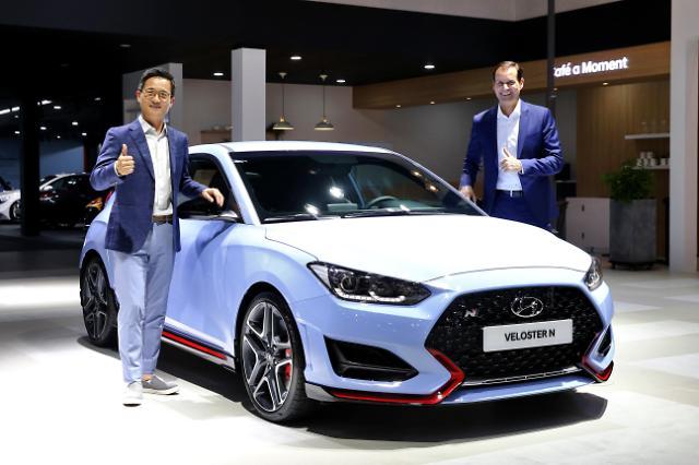 Hyundai unleashes high-performance compact sedan 'Veloster N'