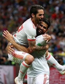 [월드컵] 코스타의 어부지리 3호골…스페인, 이란 질식수비 겨우 뚫었다