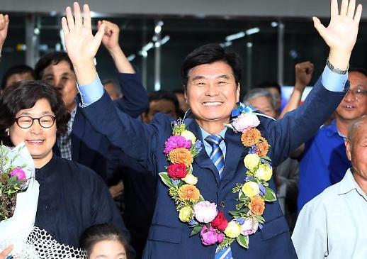 [6·13 지방선거] 더불어민주당 이춘희 세종시장 후보 재선 성공