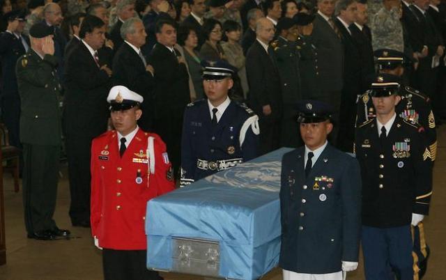 特朗普:美军200具遗骸已经收到