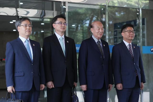 南北红十字会会谈韩方代表团