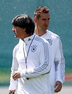 """[월드컵] 클로제의 믿음 """"독일, 압박 속에서 최고의 플레이 해왔다"""""""