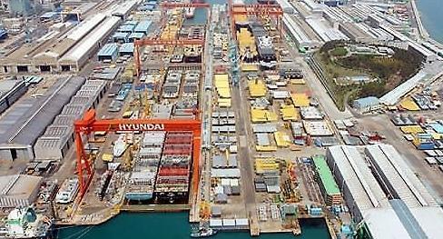 '일감 고갈' 현대重, 해양사업부 가동 중단