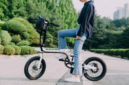 .KT releases network-connected thief-proof electric bicycles.