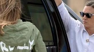[포토] 멜라니아'재킷'논란