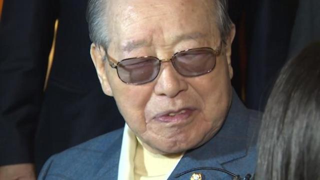 韩前国务总理金钟泌逝世
