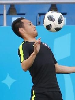 [월드컵] '스피드 맞불' 문선민, 멕시코전 깜짝 선발...손흥민·이재성 투톱