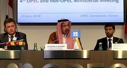 OPEC, 내달부터 100만배럴 증산...유가는 급등