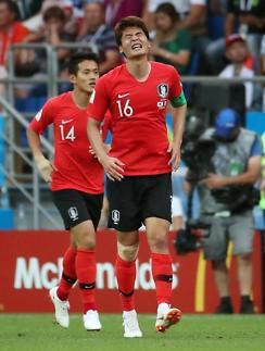 [월드컵] '캡틴' 기성용, 독일전 못 뛴다…신태용호 '비상'
