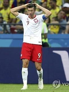 [월드컵] 피파 랭킹 8위 폴란드, 16강 진출 무산...'득점왕' 레반도프스키의 몰락