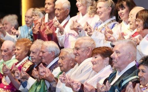 韩国国家报勋处举行韩国战争参战老兵访韩活动