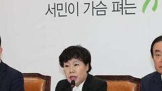 """조배숙 """"4년제 대졸 실업자 40만명…靑 경제팀 쇄신해야"""""""