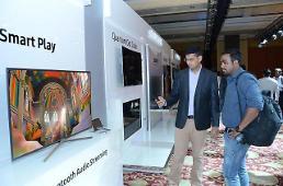 .三星加大对印度市场投资 液晶电视、智能手机一个都不能少.