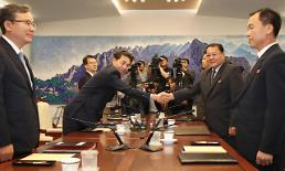 .Two Koreas discuss cooperation to restore severed rail lines .