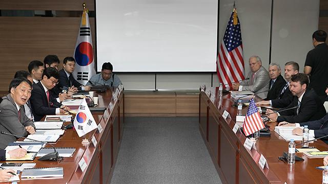 韩美第四轮驻军费谈判结束 分歧仍未缩小