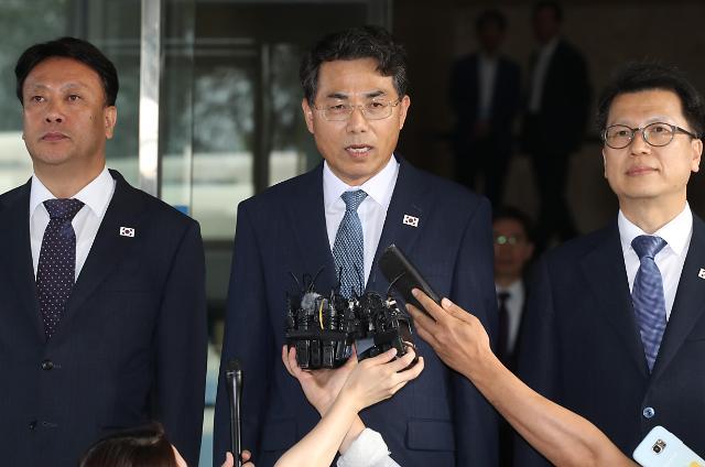 韩方代表团出发参加韩朝公路合作会谈