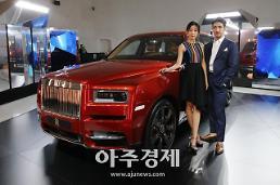 [포토] 롤스로이스 브랜드 최초의 SUV 컬리넌 첫 공개