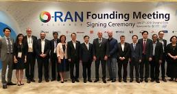 .KT and SK Telecom join board of international ORAN alliance .