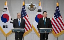 .韩美防长:寻求方法实现半岛和平 驻韩美军规模保持不变.