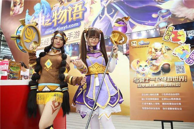 业界期待ChinaJoy成韩国游戏出口中国市场转机