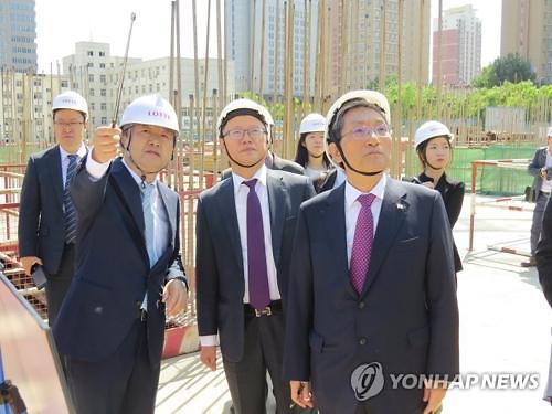 韩中友好周活动4日在甘肃开幕