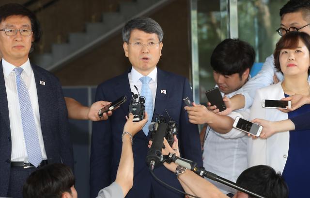 韩朝今日举行山林合作会谈