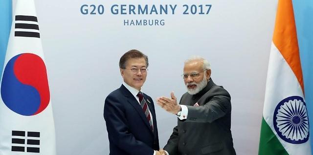 韩总统文在寅今起对印度和新加坡进行国事访问
