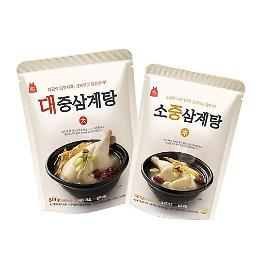 .Chicken and ginseng soup makes unexpected success in ready-to-eat market.