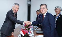 .韩国总统文在寅结束印度访问 今日前往新加坡.