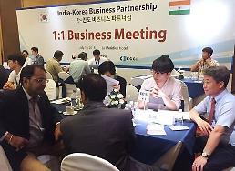 .韩印商务洽谈会在新德里举行.