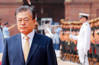 .Moon envisages bright future for N. Korea after denuclearization.